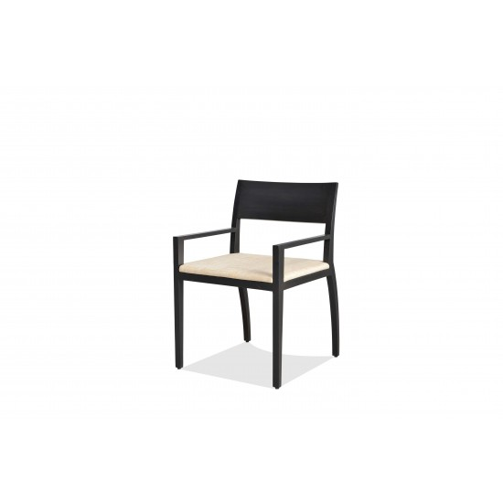 Groove Dining Chair With Arms